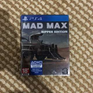 game ps 4 madmax ripper edition