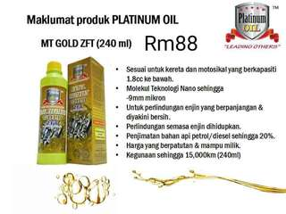 METAL TREATMENT PLATINUM OIL