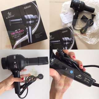 Hair Dryer De Rucci DR-188 / Pengering Rambut / Blow