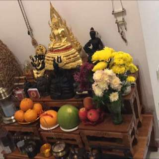 Thai Altar Table - 10 pc