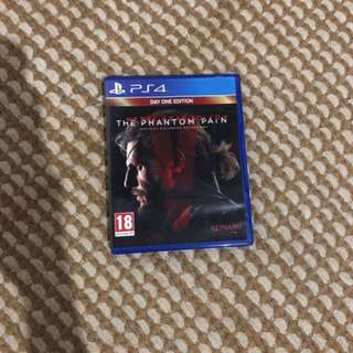 game ps 4 Metal Gear Solid V The Phantom Pain
