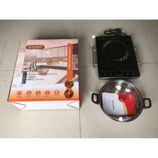 Best Quality Kompor Induksi Elite Cooker Design Italy 1 Tungku With Handle