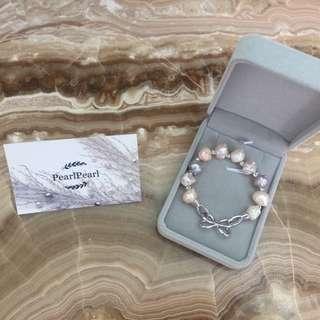 [天然珍珠]Pearl Pearl 巴洛克珍珠手鏈 大平賣$308 每條