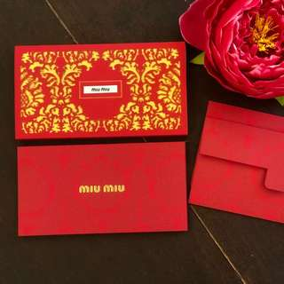 2018 Miu Miu angpow Packet