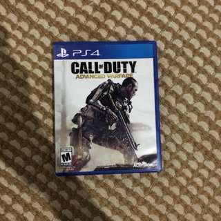 game ps 4 call of duty advanced warfare