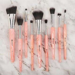 Sale! Rose Quartz 9 Piece Brush Set by Bh Cosmetics