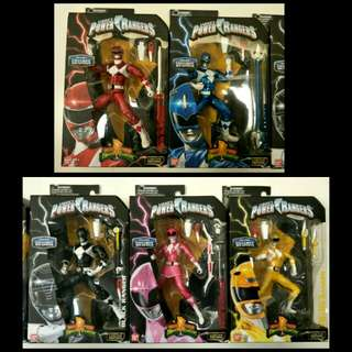 Teenagers With Attitude (Power Rangers Metallic Legacy Team)