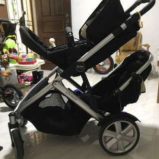 Used Britax double stroller