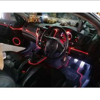 Car Interior Lighting - Optical Fiber