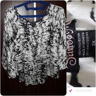 Baju fashion model kalong size 3x harga net!