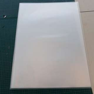 A2 Clear Art Folder