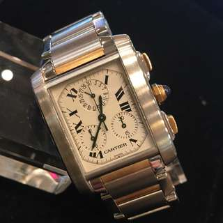 cartier tank francaise 特價