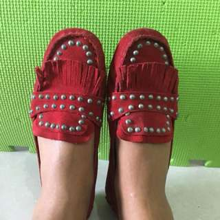 Zara Woman Red Shoes