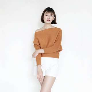 Premium Knit Top Red (Rajut Import BKK premium)