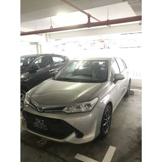 Toyota Axio 1.5L 2015 Model