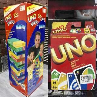UNO Stacko & Cards