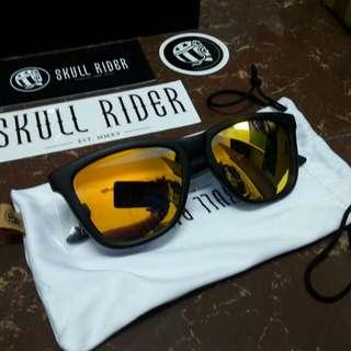 Skull rider sarah yellow