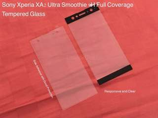 Sony Xperia XA2 Ultra Smoothie Full Coverage Tempered Glass