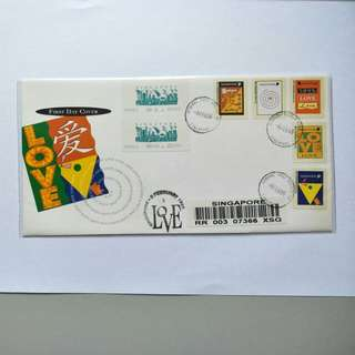 S'pore registered FDC Love