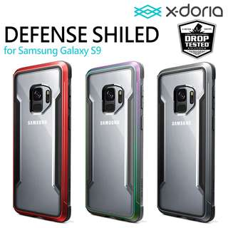 X-doria Defense Shield 手機殼 3米防撞 金屬邊 Samsung Galaxy S9