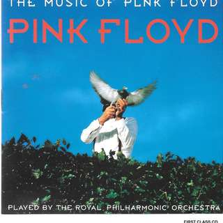 MY PRELOVED CD - THE MUSIC OF PLNK FLOYD - PLAYED BY ROYAL PHILHARMONIC ORCHESTRA  /FREE DELIVERY (F7P))