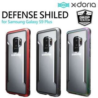 X-doria Defense Shield 手機殼 3米防撞 金屬邊 Samsung Galaxy S9 Plus