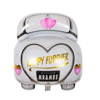 (Preorder) Wedding Car Foil Balloon
