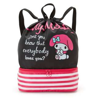Japan Sanrio My Melody Knapsack Backpack