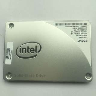 SSD 240gb Intel each 85$