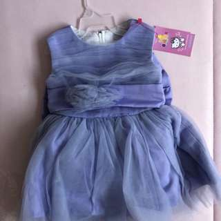 Purple Tulle Dress