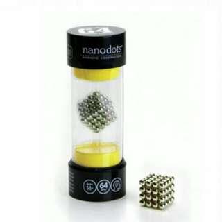 🚚 nanodots魔力磁球-(銀灰)[郵寄免運費]