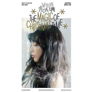 TAEYEON - TAEYEON SPECIAL LIVE [THE MAGIC OF CHRISTMAS TIME] (2 DISC)