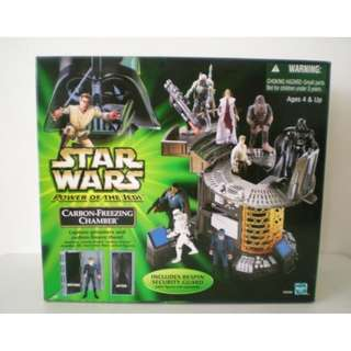 *RELIVE CLASSIC STAR WARS!* 1997 PoTF Carbon Freezing Chamber Playset MIB