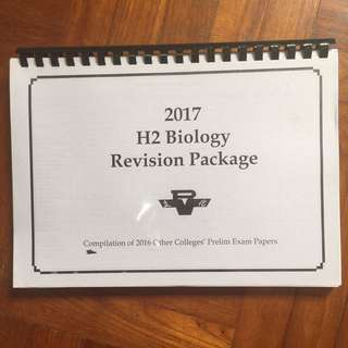 A level biology revision package