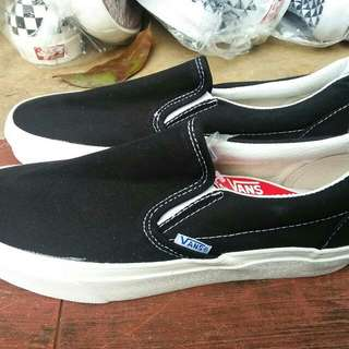 Ready Vans OG Slipon Lx Black White