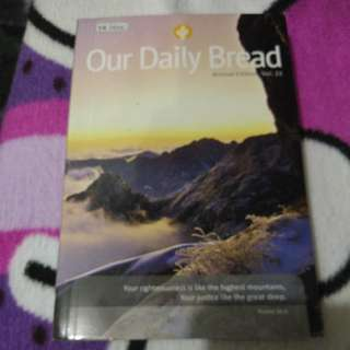 Our daily bread book