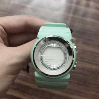 Casio baby G Watch in mint blue