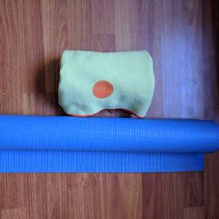 Yoga mat and Yogitoes Skidless Eco friendly towel