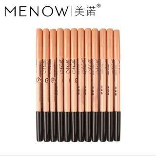 Menow 2 in 1 eyeliner/eyebrow and concealer pencil