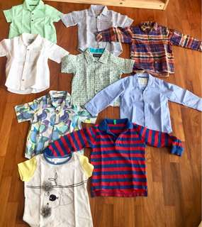Boys shirts 1.5-2yo