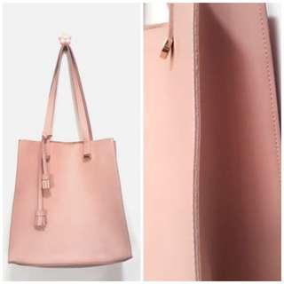 Miniso Blush Tote Bag