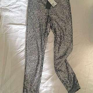 Sequin festival pants
