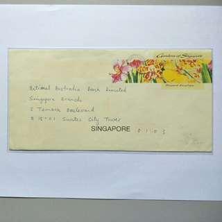S'pore prepaid envelope Gardens