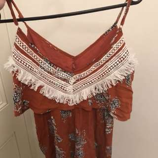 Mura Boutique - Size 6/8 petite playsuit- worn once