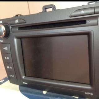 Toyota Axio Original DVD Japan Player