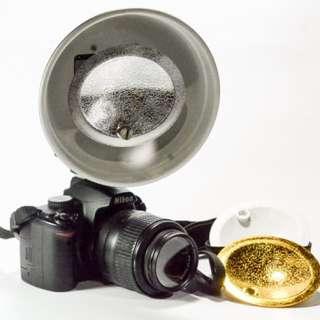 Beauty Dish for Speedlight