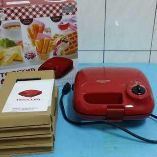 TESCOM 三盤式鬆餅機