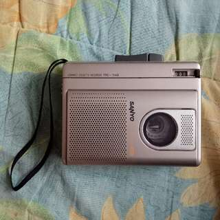 Sanyo Compact Cassette Recorder