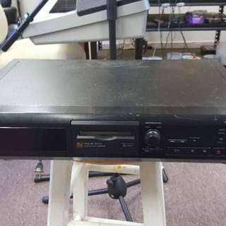 Sony mini disc recorder/player