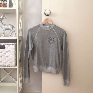 Urban Outfitters Truly Madly Deeply Grey Jumper